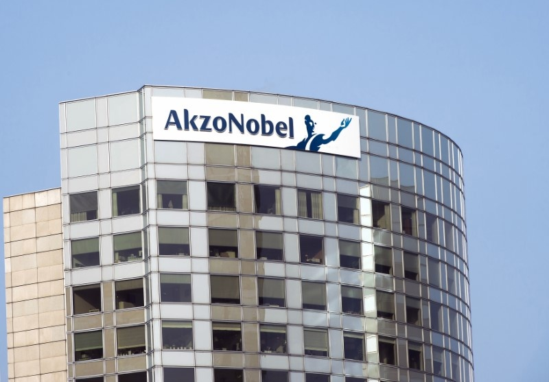 AkzoNobel reports shareholder Elliott to financial authorities following calls to remove chairman