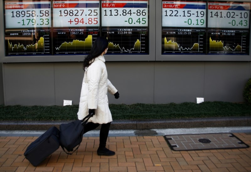 United States stock indexes move higher in midday trading; oil rises