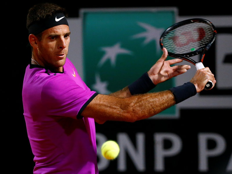 Del Potro saddened by Almagro 'agony'
