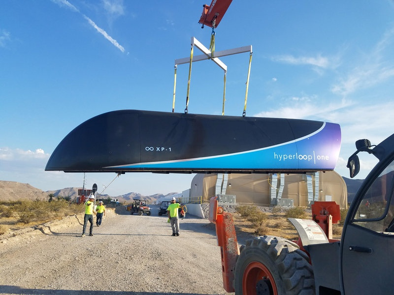 Hyperloop One completes full-scale test run