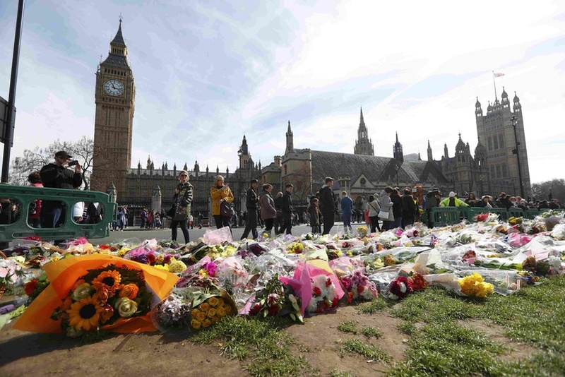 Westminster attack was over in just 82 seconds