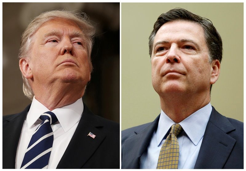 What was James Comey thinking when he met with Trump?