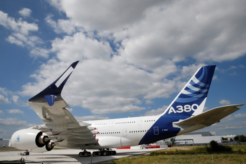 Airbus unveils upgrade plan on A380