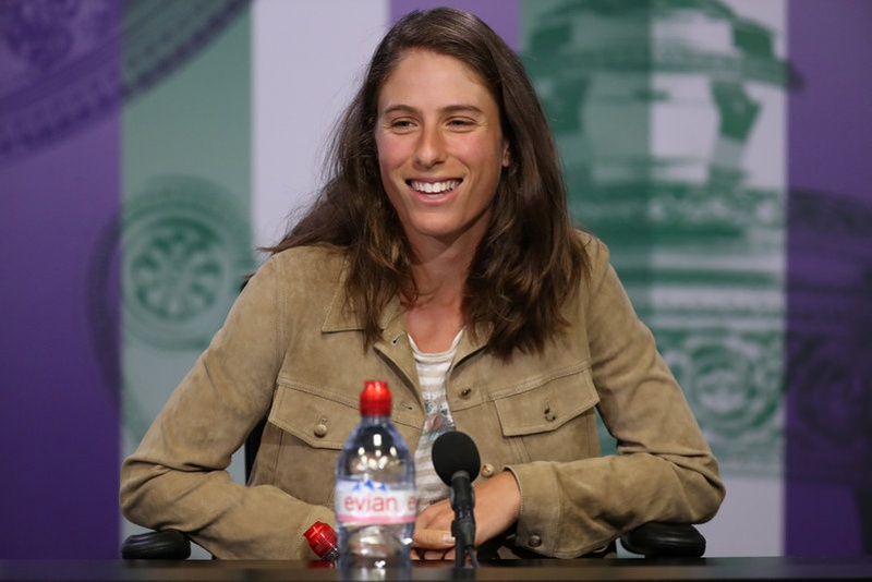 Johanna Konta fit and ready for Wimbledon despite fall