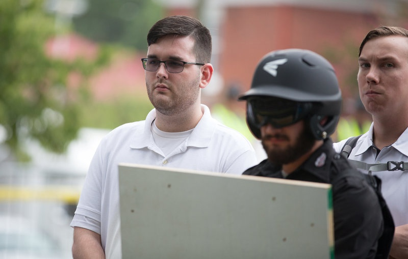 James Alex Fields Jr.  is seen attending the