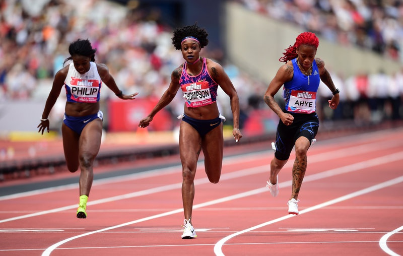 Farah and Bosworth star on day of records at Anniversary Games