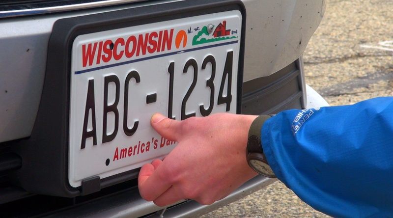 Seven digit license plates coming soon news wsau for Department of motor vehicles stevens point wisconsin