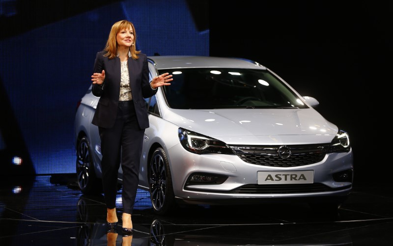 Germany concerned about possible sale of GM's Opel