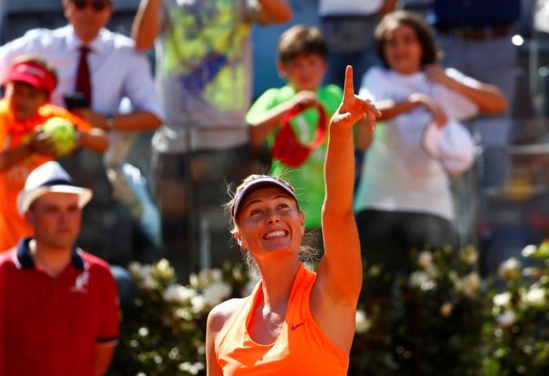 No French Open wildcard for Sharapova