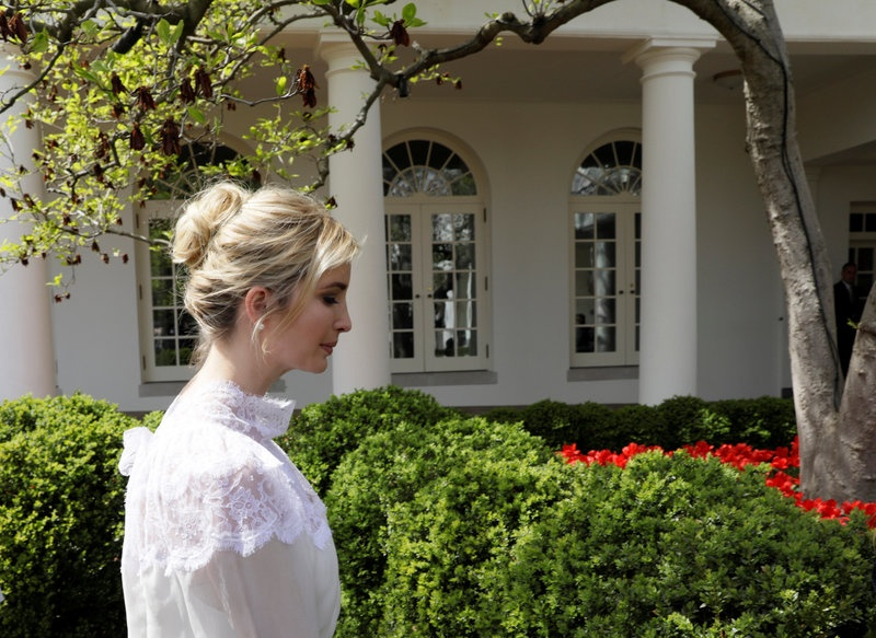 Ivanka Trump Denies Merkel Using Her to Get Close to Her Father