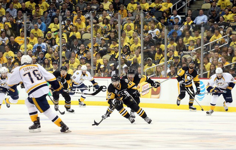 Pens not shaken by Preds' surge