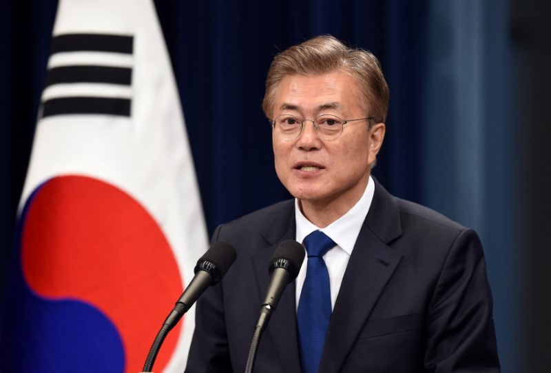 Moon Seeks to Mend China Ties Over Thaad in Call With Xi