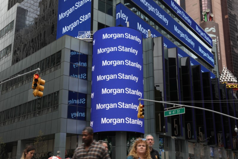 Morgan Stanley shares jump after earnings, revenue easily beat the Street
