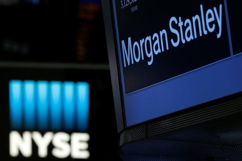 Most Active Stock: Morgan Stanley (MS)