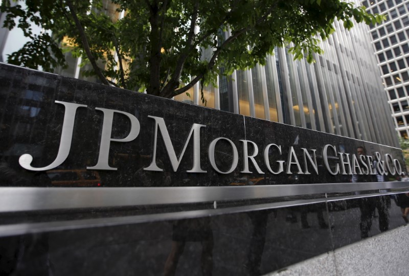 JP Morgan Chase & Co (NYSE:JPM) Lowered to