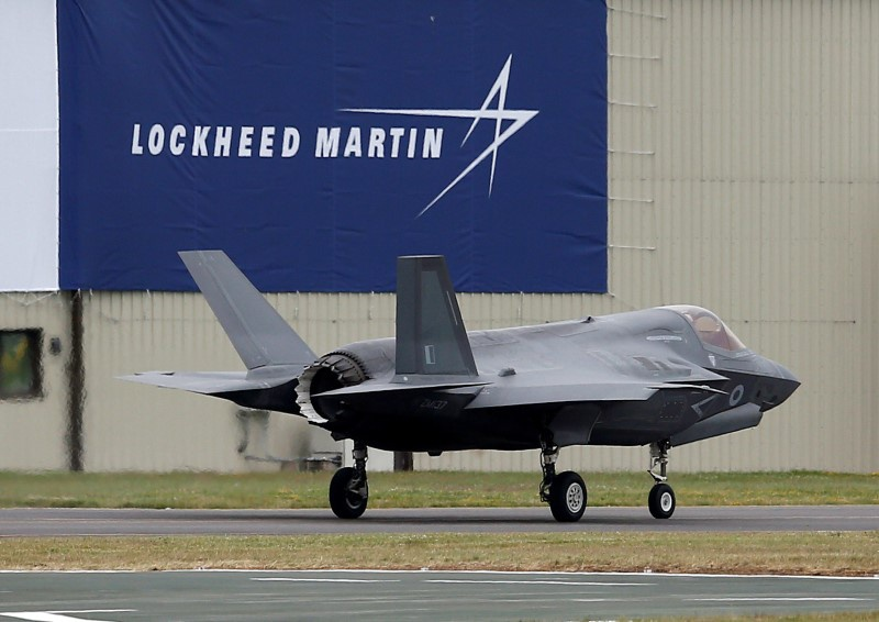 Lockheed Martin raises full-year outlook after fighter jet sales boost results