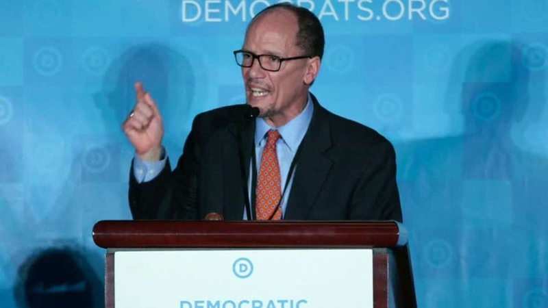 Perez asks for Democratic Party staff resignations