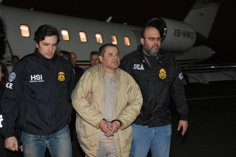 Joaquin 'El Chapo' Guzman returns to court in drug case