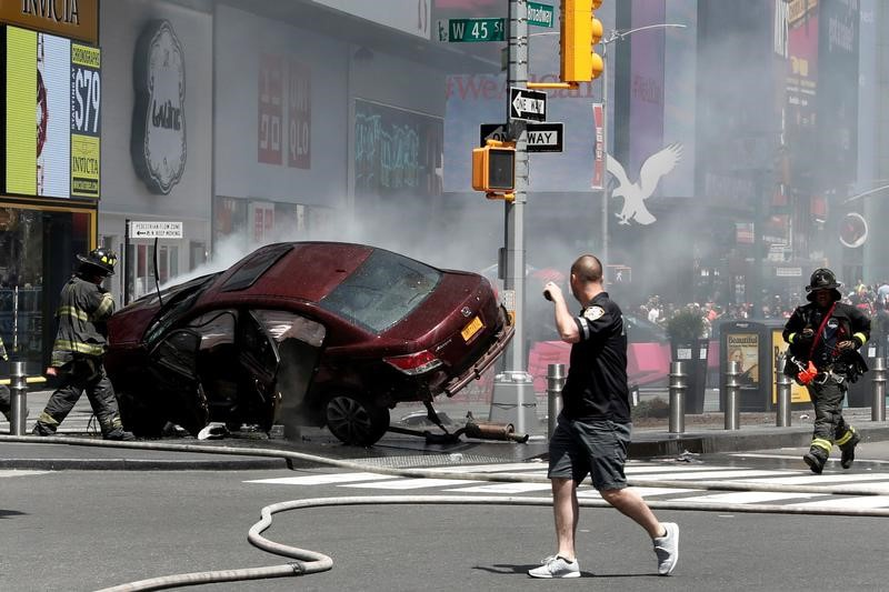 Suspect in Times Square car crash that killed 1 is indicted