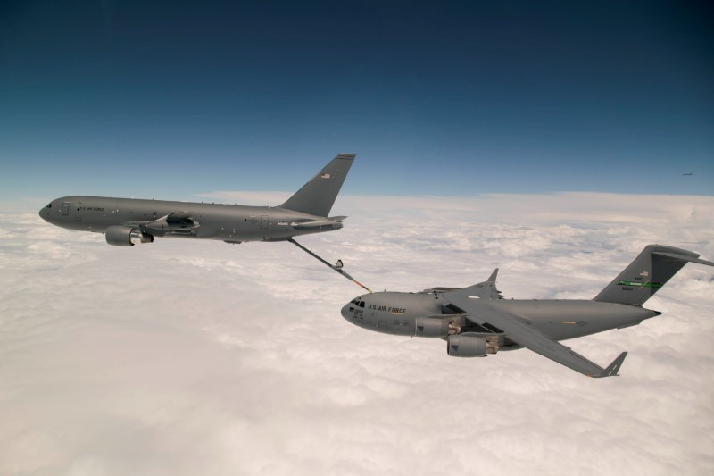 US Air Force says Boeing delays KC-46 aircraft delivery