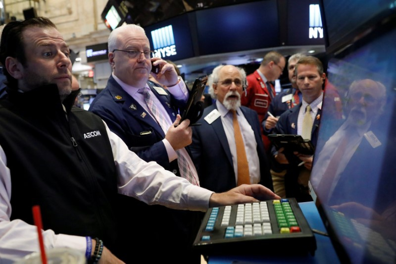 Markets Right Now: Tech, banks lead early gains