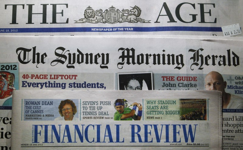 Australia's Fairfax Media gets revised $2 billion offer from TPG-led group