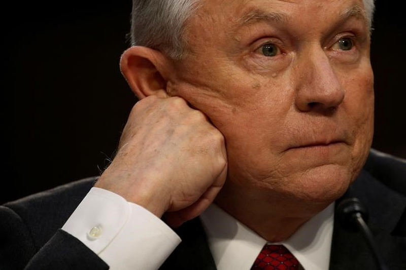 Sessions shrugs off Trump's criticism, says will continue as Attorney General