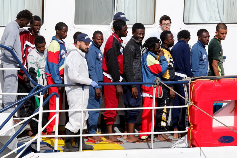 More than 500 migrants plucked from Mediterranean by rescue boat