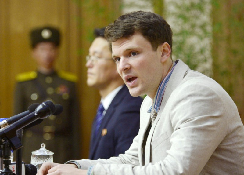 Otto Warmbier, US student freed from North Korea, dies