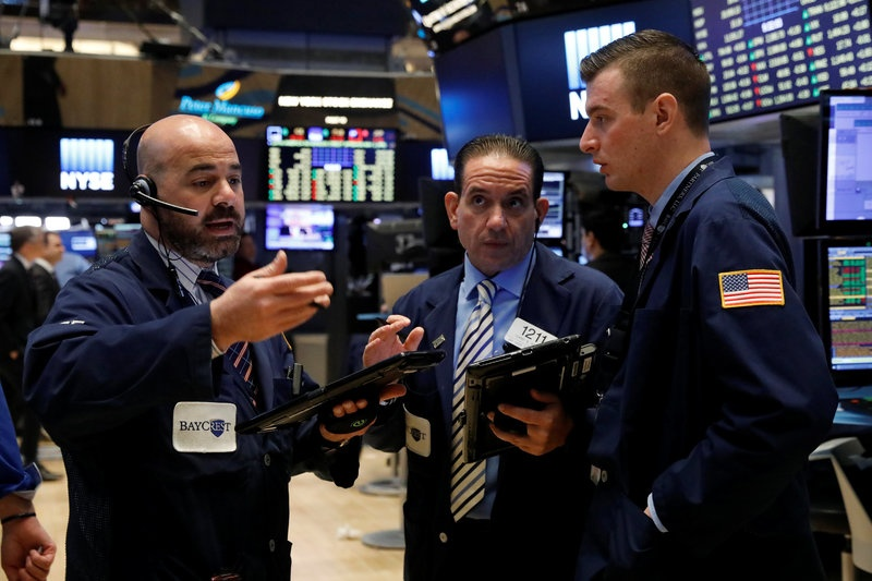 S&P, Nasdaq open higher, IBM weighs down Dow
