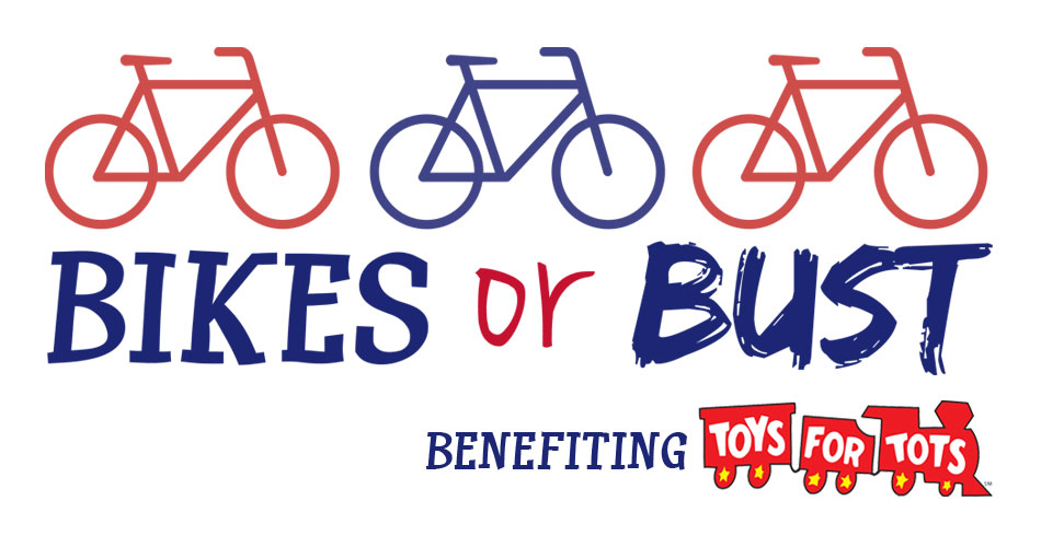 Bikes Toys For Tots Or Bust : Bikes or bust jack fm playing what we want