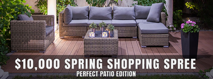 Knoxville Wholesale Furniture $10,000 Spring Shopping Spree U2010 Perfect Patio  Edition | Banner