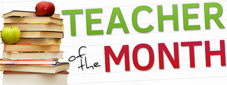 Teacher of the Month | Banner