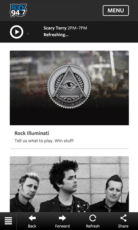 Download the Rock 94 7 Mobile App | Rock 94 7 WOZZ | Wausau