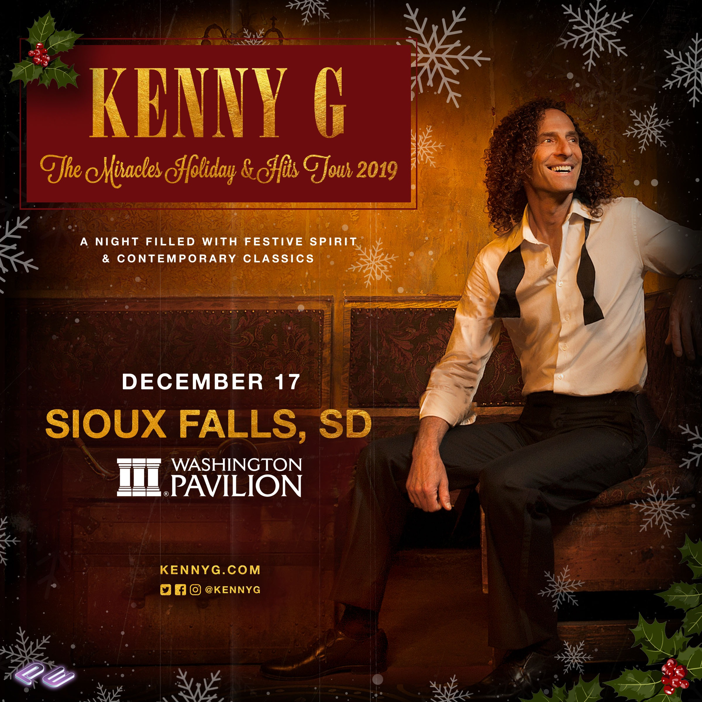 Kenny G Christmas.Kenny G At The Washington Pavilion This Christmas 101 9