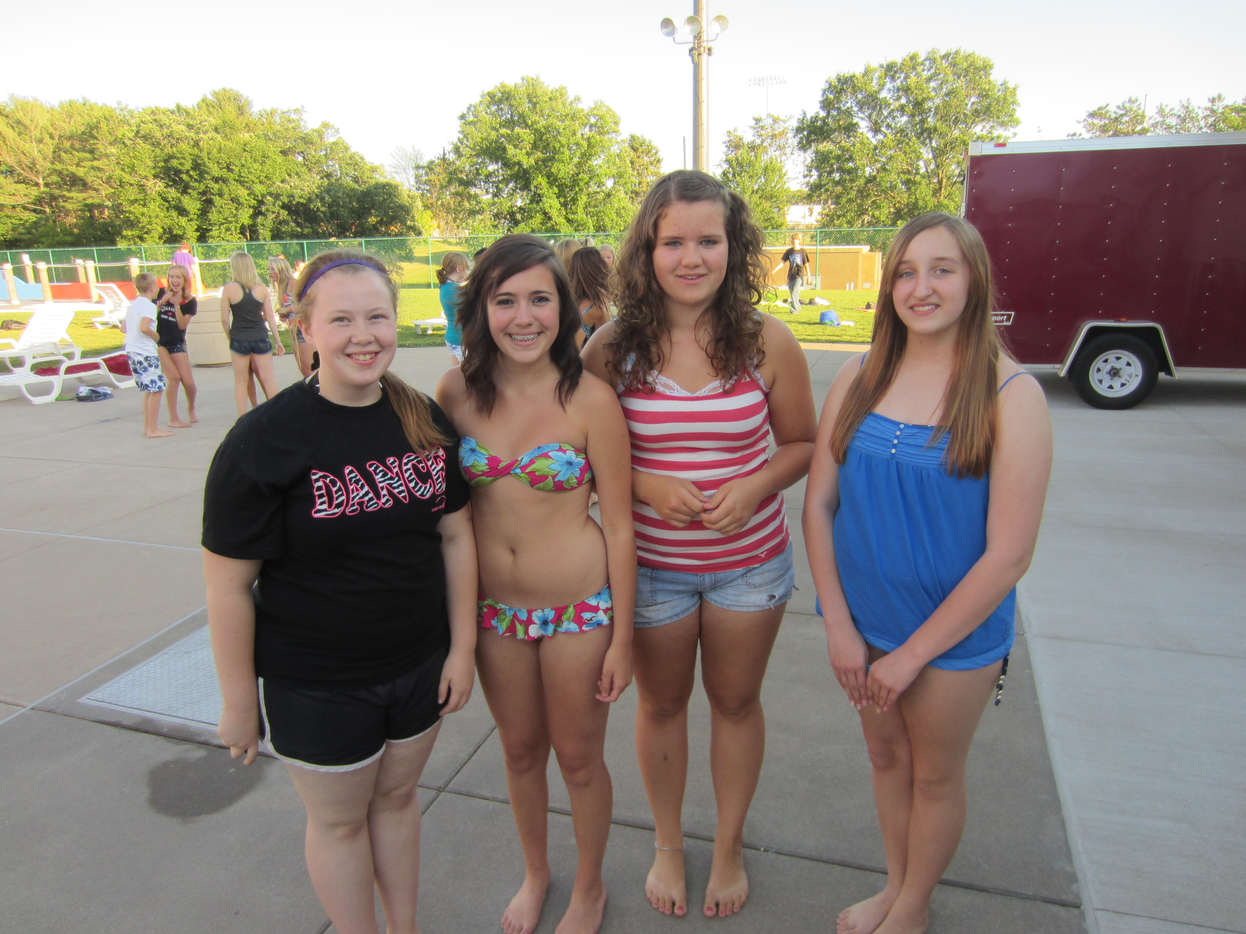 Teen Summer Swim
