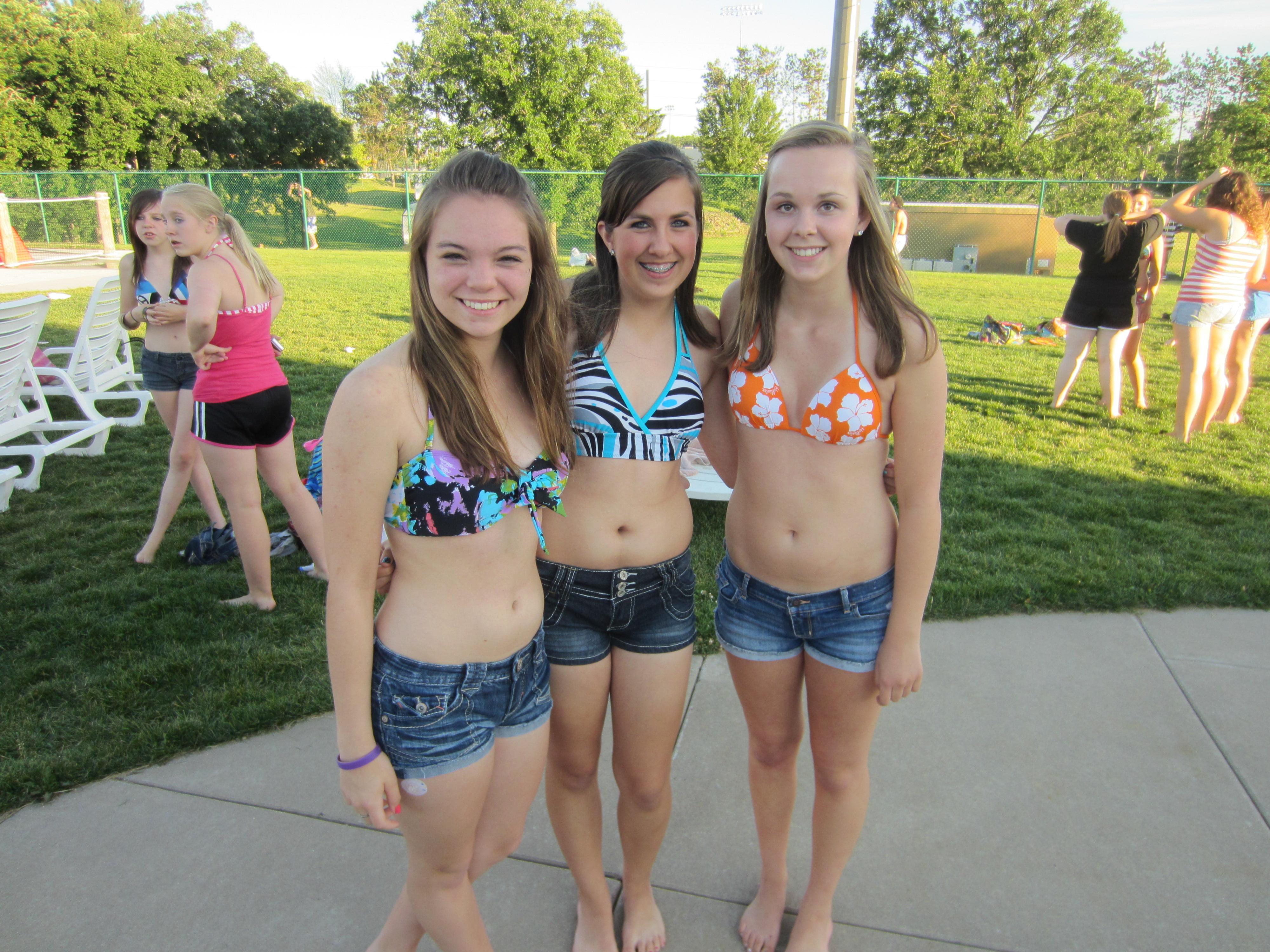Busty Teen Swim 66