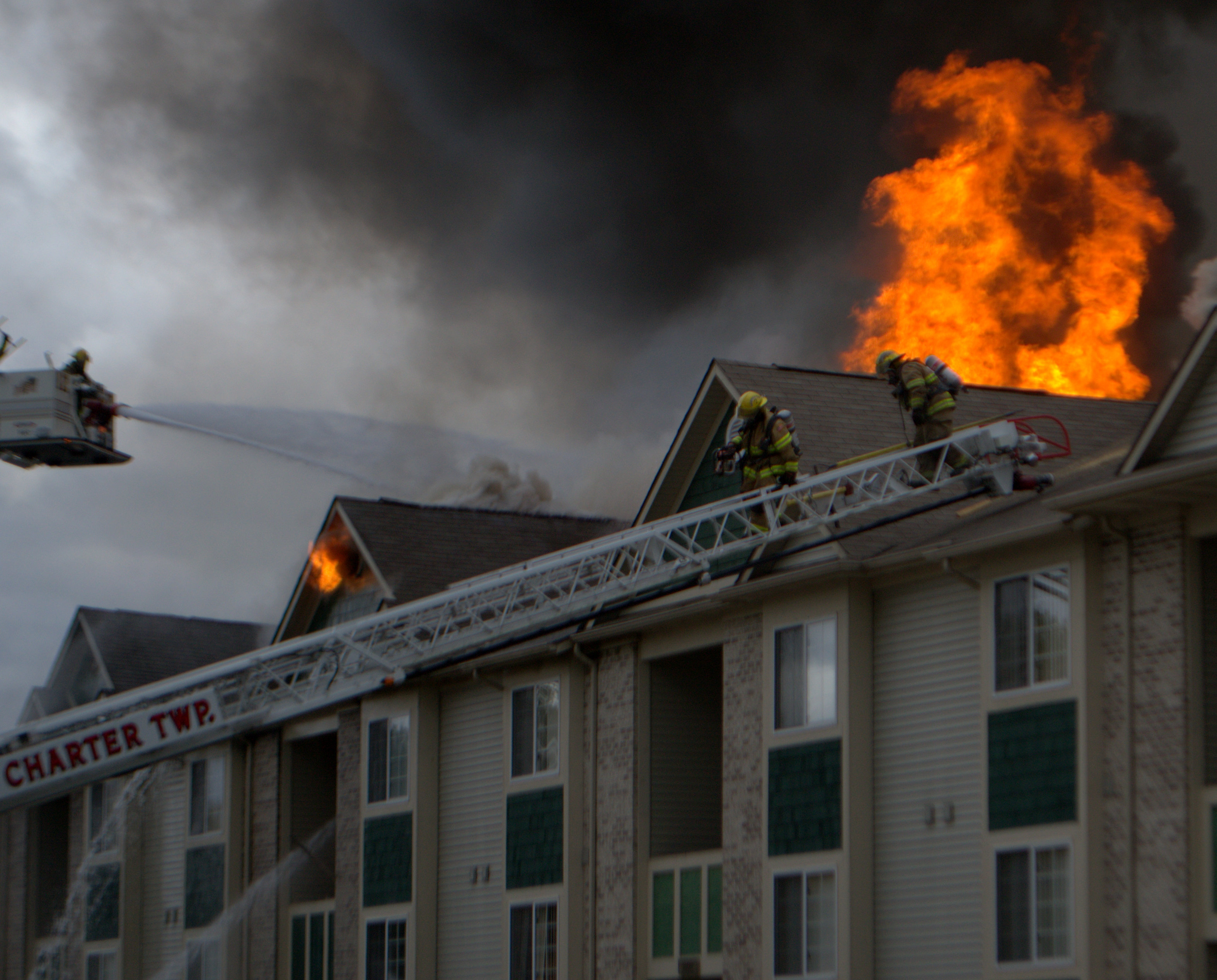 Photo 5 Of 49 | Fire At Clearview Apartments In Holland October 10, 2012 |  1450 99.7 WHTC