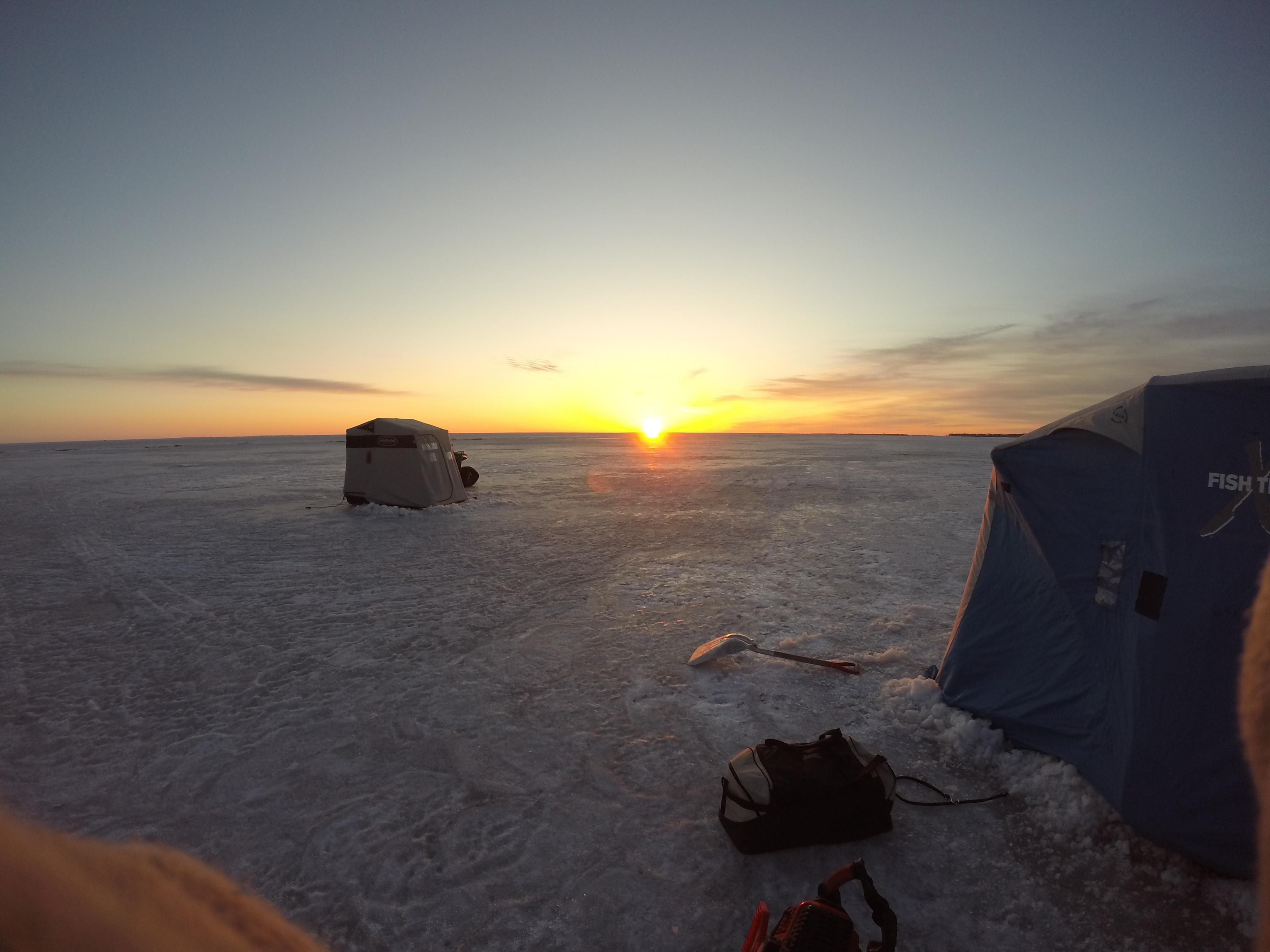 Photo 25 of 25 ice fishing on lake winnipeg in march for Lake winnipeg ice fishing