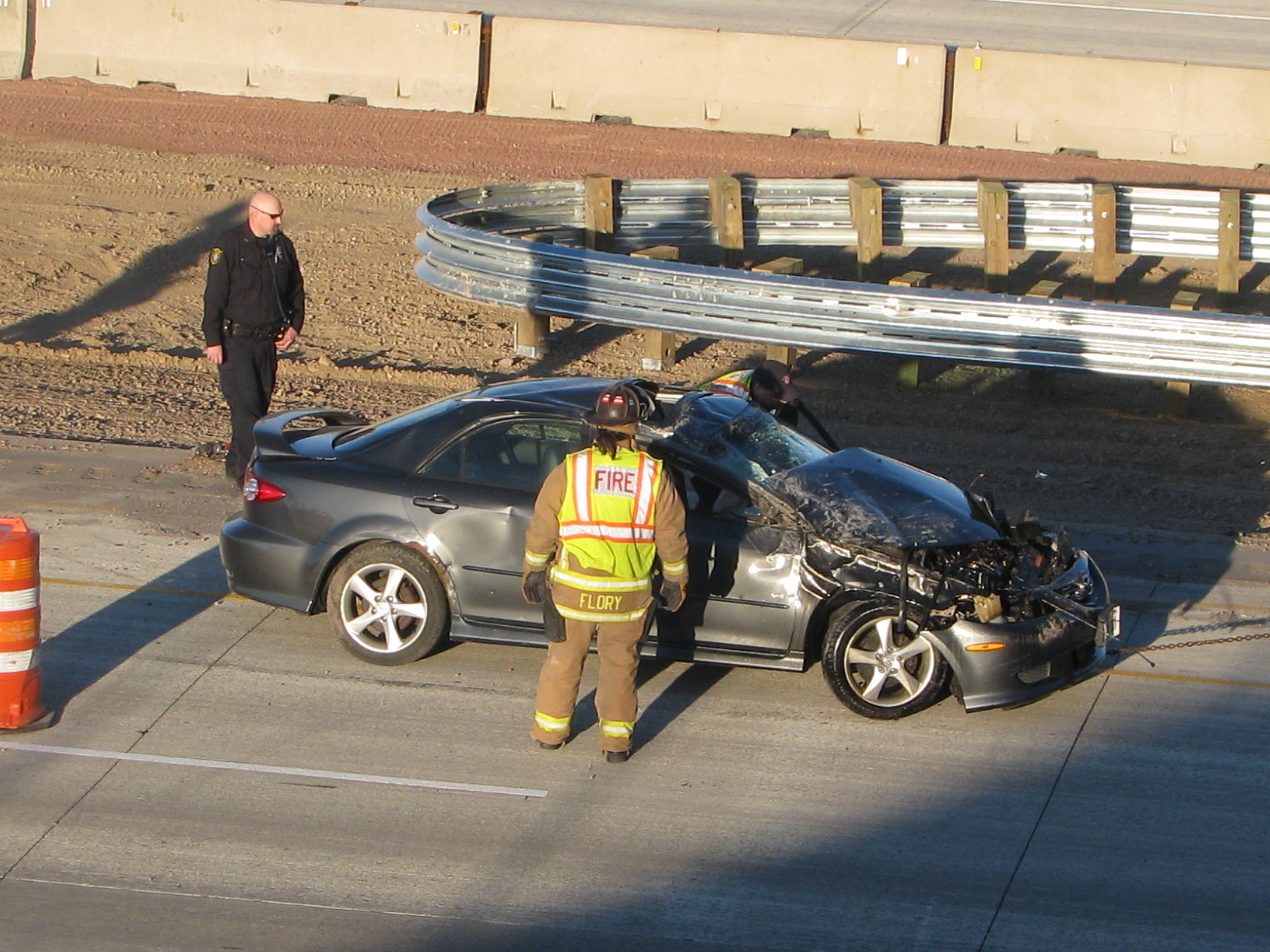 One car rollover crash at 51 & U Monday | News | WSAU
