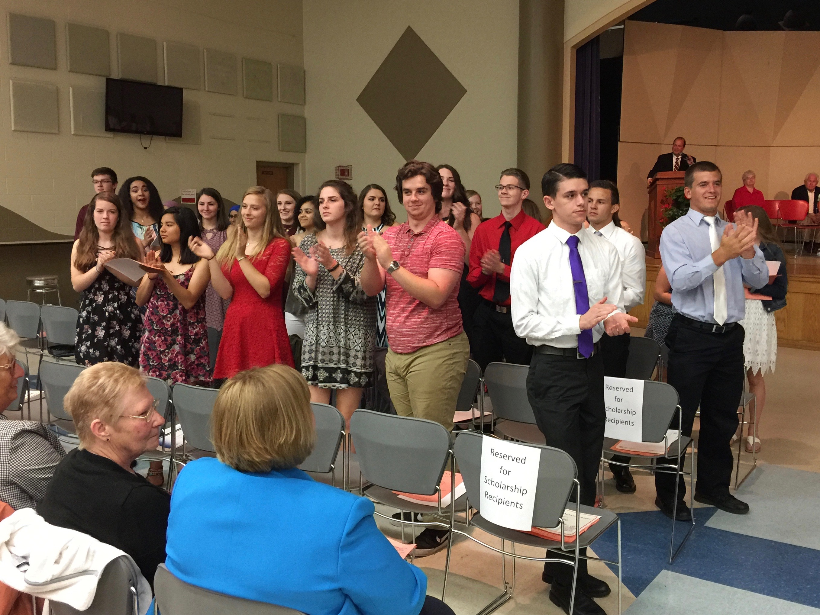 $215,000 in scholarships awarded at CHS | News | WTVB
