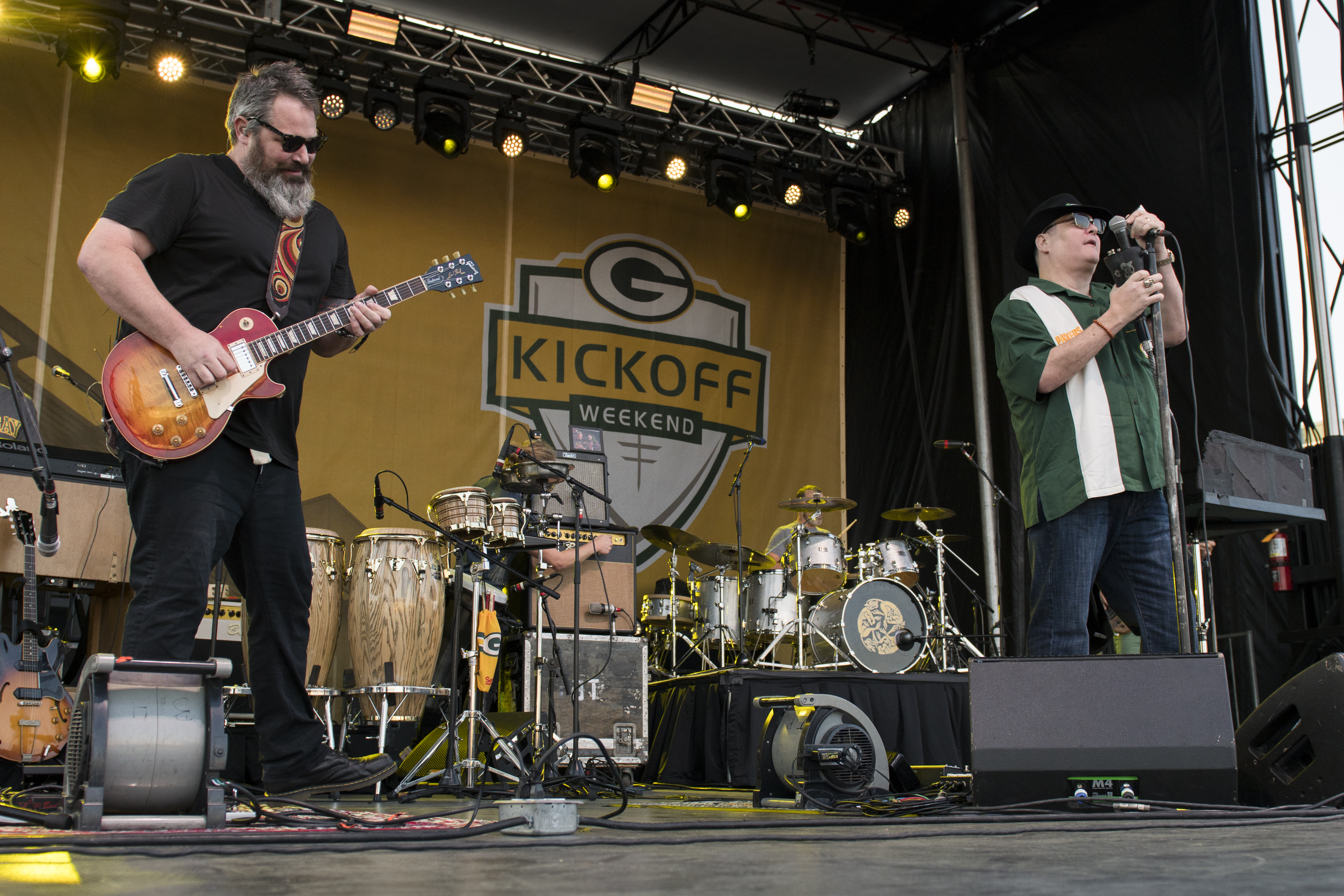 s Packers Kickoff Concert at Lambeau Field on 9 9 17