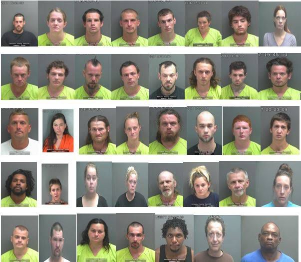 Year-Long Drug Investigation Leads To 37 Arrests, Several