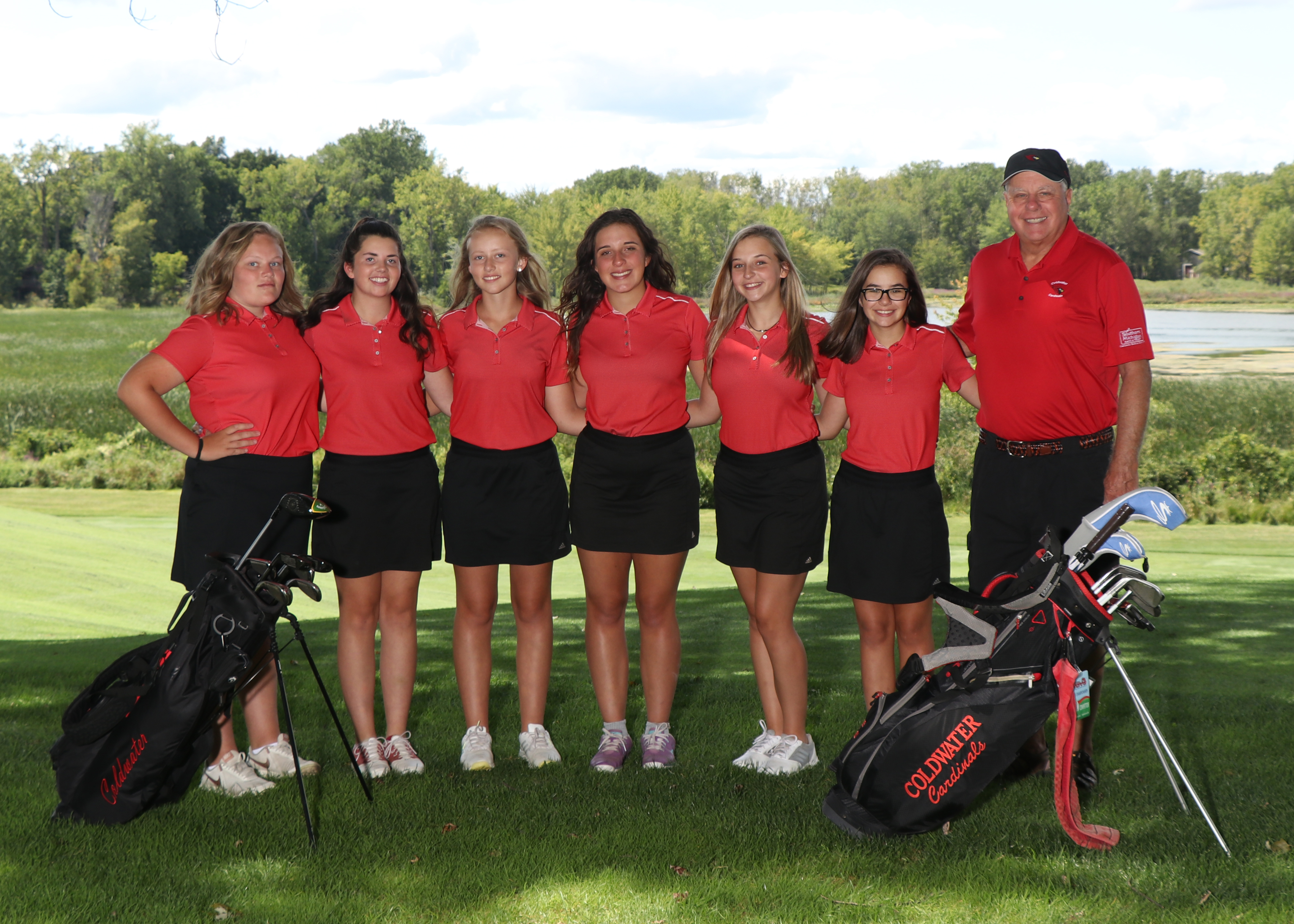Lady Cards finish fourth in latest golf jamboree | News | WTVB