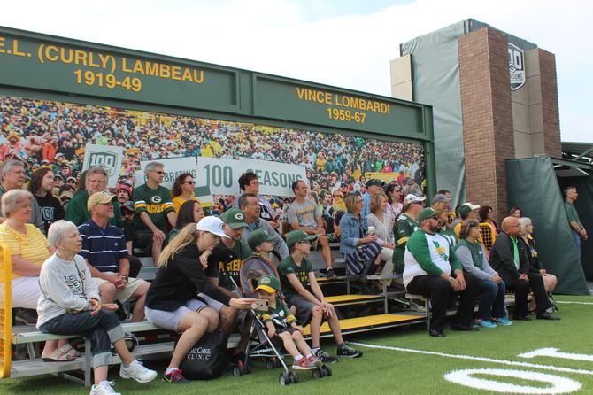 a56d4c4c PHOTOS & VIDEO :: Preview the New 'Lambeau Field Live' Traveling ...
