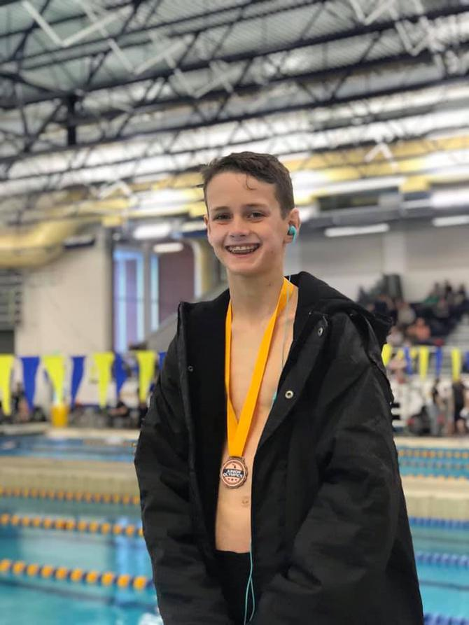 Local swimmers medal at Junior Olympic Championship | WTVB