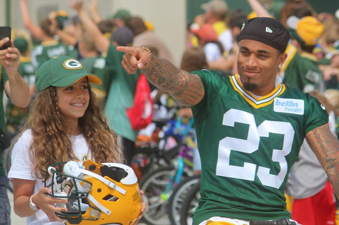 c1038b68 Packers 2019 Training Camp Schedule Released   101 WIXX