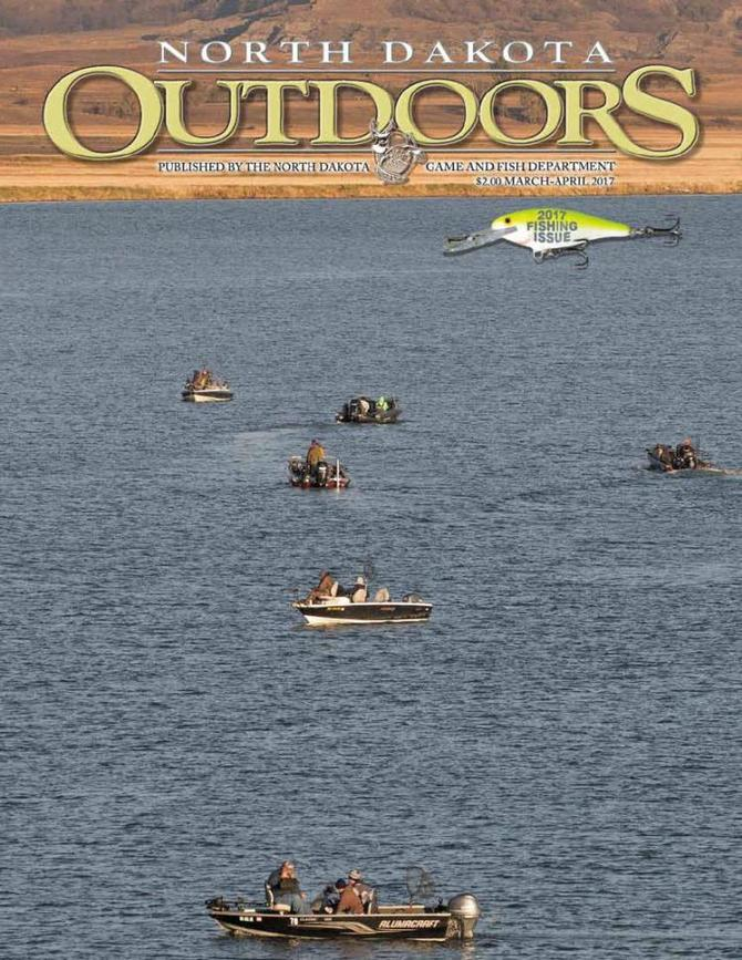 Have you read march april nd outdoors magazine the for Nd game and fish stocking report