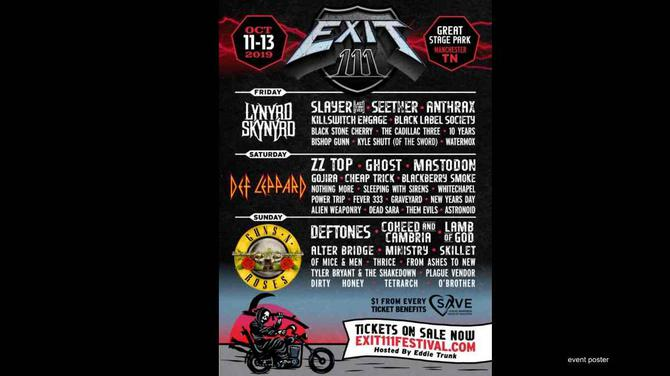 Anthrax & Killswitch Engage Added to Exit 111 Festival | Q106
