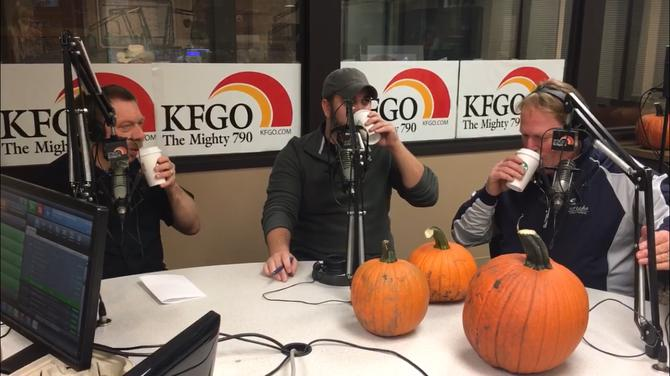 The Men Of KFGO Try Pumpkin Spice Lattes For First Time